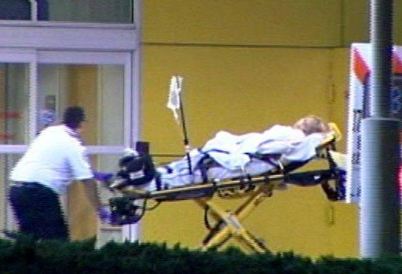 Holmberg ford till sjukhus i florida