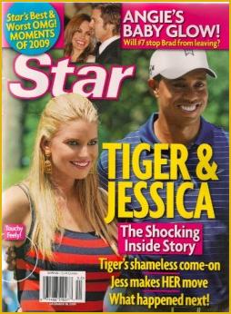 Jessica Simpson och Tiger omslag Star
