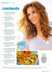 Cindy Crawford i People januari 2010
