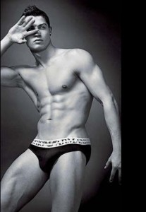 Cristiano Ronaldo underkläder Armani