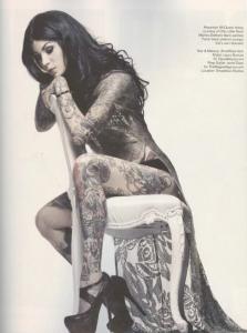 Kat von D har 400 tatueringar