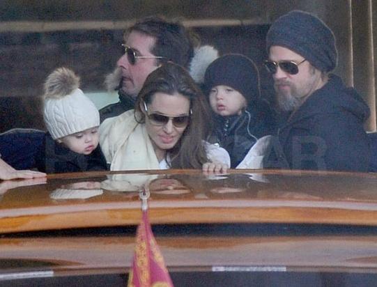 tvillingarna Jolie Pitt