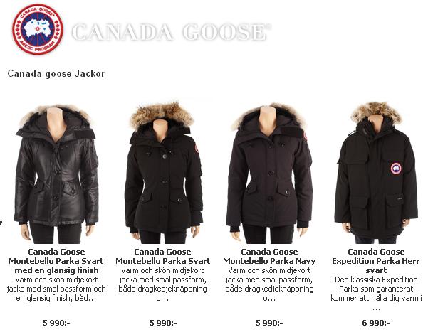 Billiga Jackor Canada Goose