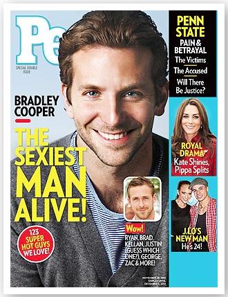 Bradley Cooper världens sexigaste 2011
