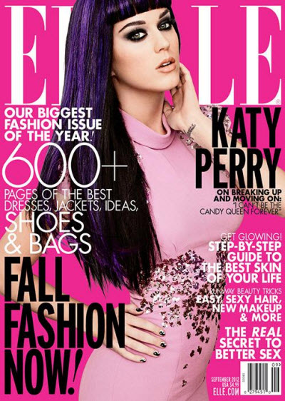 Katy Perry ELLE 2012
