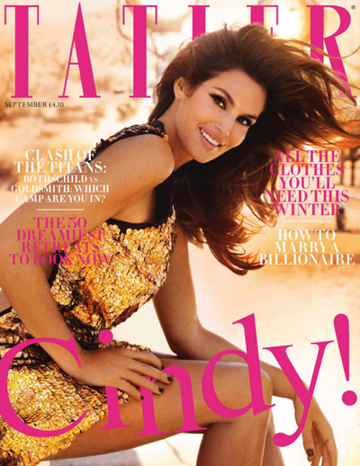 Cindy Crawford Tatler