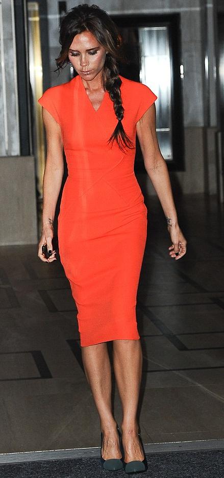 Victoria Beckham vs Katie Holmes – vem vinner Fashion Week ...