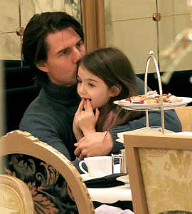 Tom Cruise med Suri