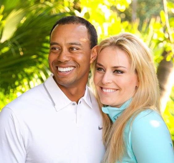 Lindsey vonn och tiger woods separerar