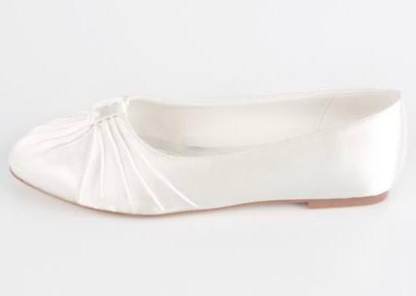 vita ballerina bröllop