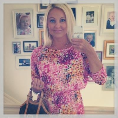 Pernilla Wahlgren klänning