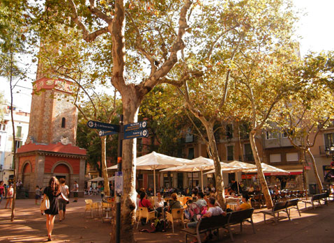 gracia barcelona cafe