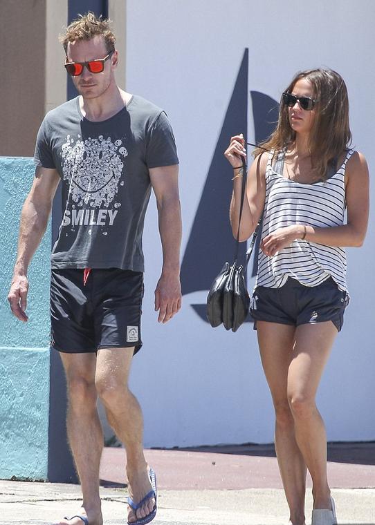Alicia och Michael Fassbender