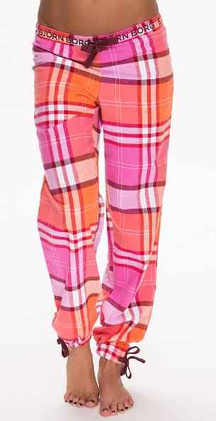 rutig-pyjamasbyxor