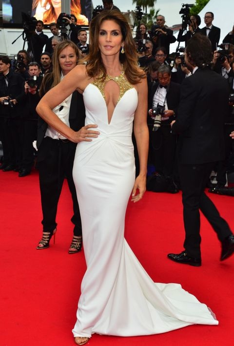 66th Cannes Film Festival - Opening Ceremony Featuring: Cindy Crawford Where: Cannes, France When: 15 May 2013 Credit: Joe Alvarez