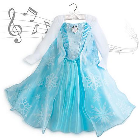 Elsa-klanning-Frost-sjungande