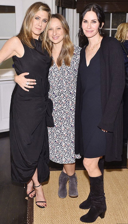 aniston-cox-black-dress