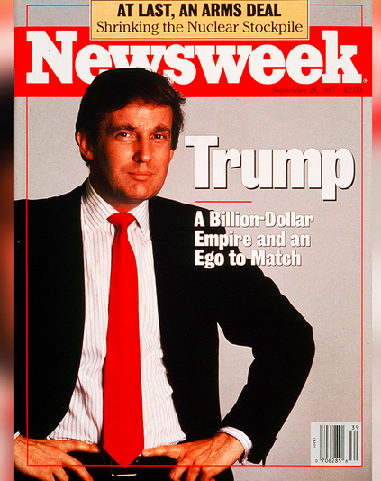 donald-newsweek-omslag-1987