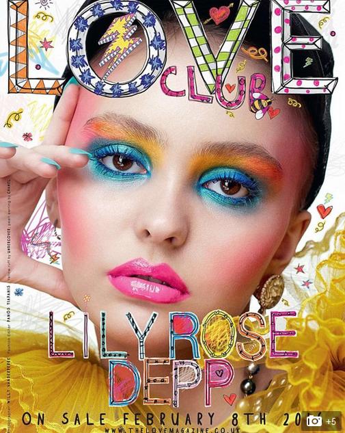 love-magazine-omslag-lilyrose-depp