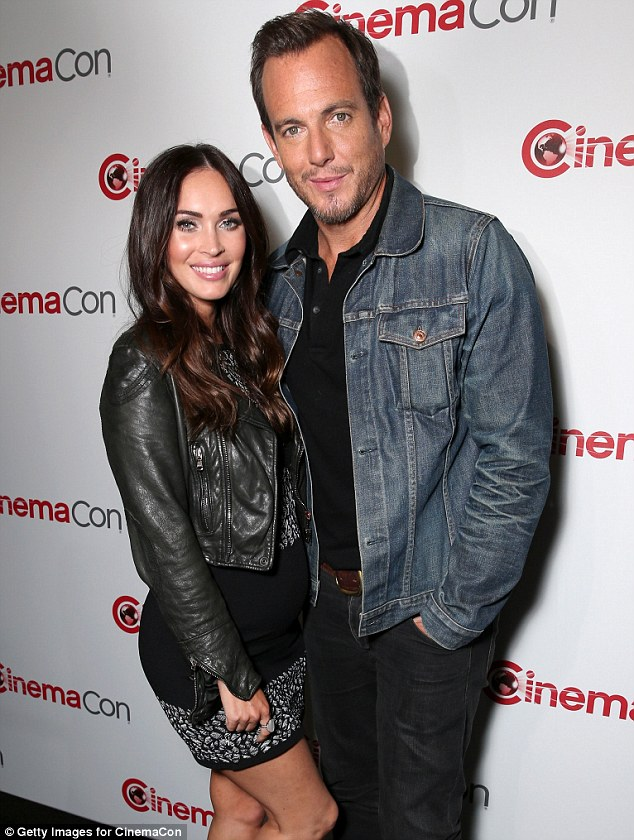 Megan-Fox-gravid-Will-Arnett