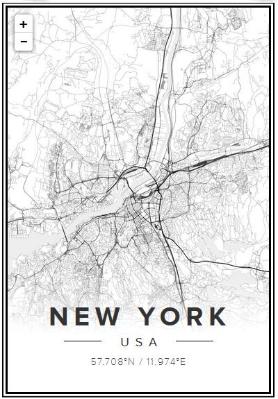 tavla karta stad Kartor som tavlor | En Bitter Blondins Blogg tavla karta stad