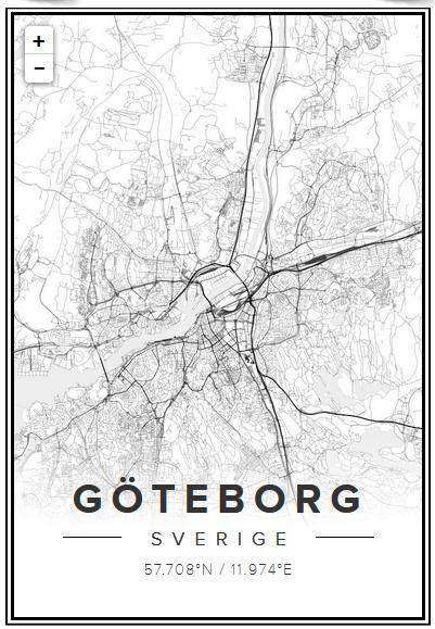 tavla med karta Kartor som tavlor | En Bitter Blondins Blogg tavla med karta